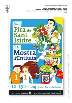 Cartell Fira de Sant Isidre i Mostra Entitats Viladecans_web_2