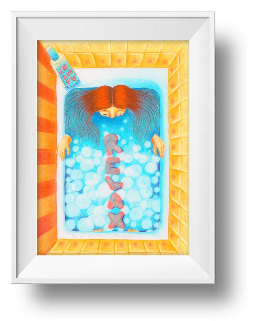 Ilustracion Champu Relax