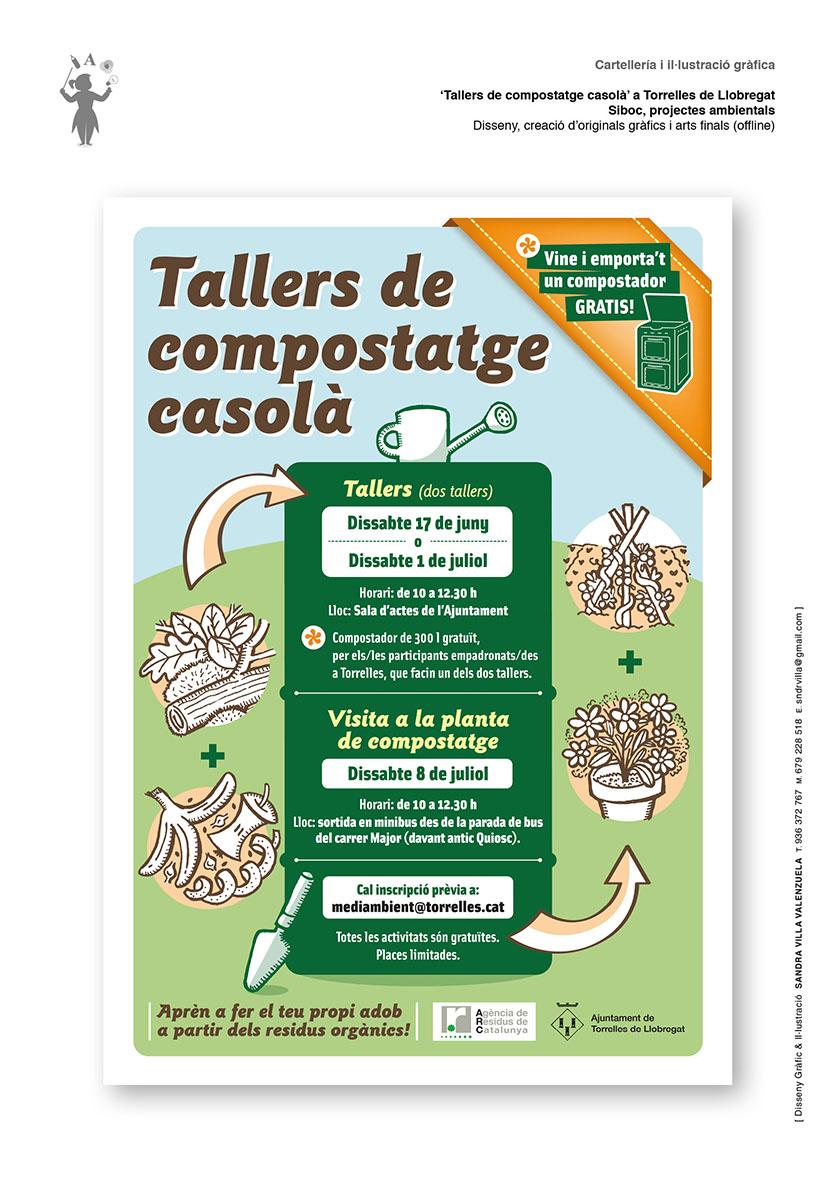 Cartell Compostatge casola Torrelles de Llobregat_web