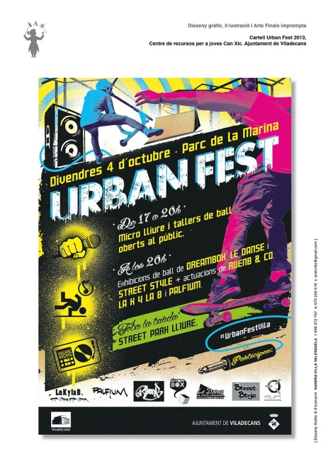 Cartell Urban Fest 2013_Aj Viladecans