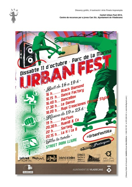 Cartell Urban Fest 2014_Aj Viladecans